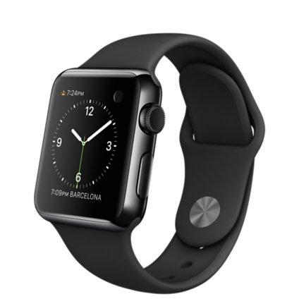 Original Apple Watch 38mm - Stainless Steel Case - Black