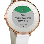 Pebble Tech  Time Round Smartwatch
