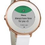 Pebble Tech  Time Round Smartwatch