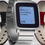 Pebble Tech  Time Steel Smartwatch
