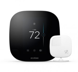 smart home tech Ecobee3 smart thermostat