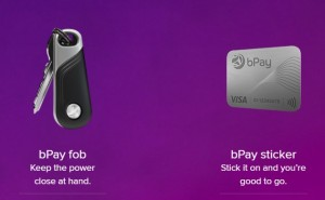 best wearable tech to make payments bPay fob and sticker