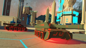 Battlezone game for the Sony PlayStation VR platform