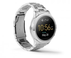 Fossil Q Founder in brushed stainless steel, one of best android wear smartwatches 2016