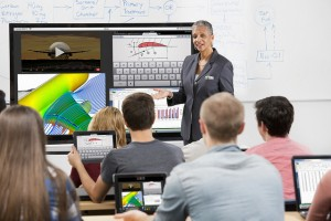 Classroom wearables and modern tech in use