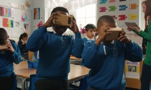 Google Expeditions Cardboard VR classroom wearables kit