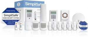 SimpliSafe Elite smart home security package