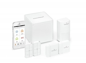 iSmartAlarm smart home security system all-in-one kit