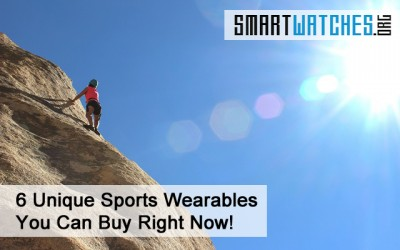 6 Amazing and Unique Sports Wearables You Can Buy Right Now