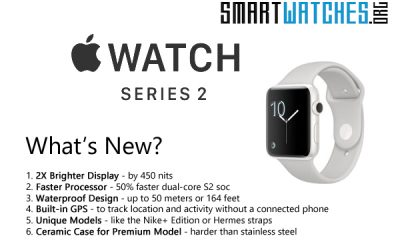 Apple Watch 2 vs Apple Watch – What's the Difference?