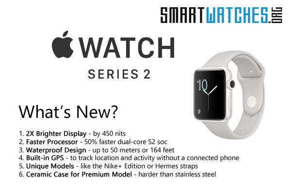 apple watch 2 vs apple watch whats new