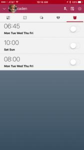 alarms-in-myki-app
