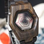 Kisai  Spider Wood Link LCD Smartwatch