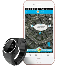 Adiant GPS tracker with MX-LOCare watch
