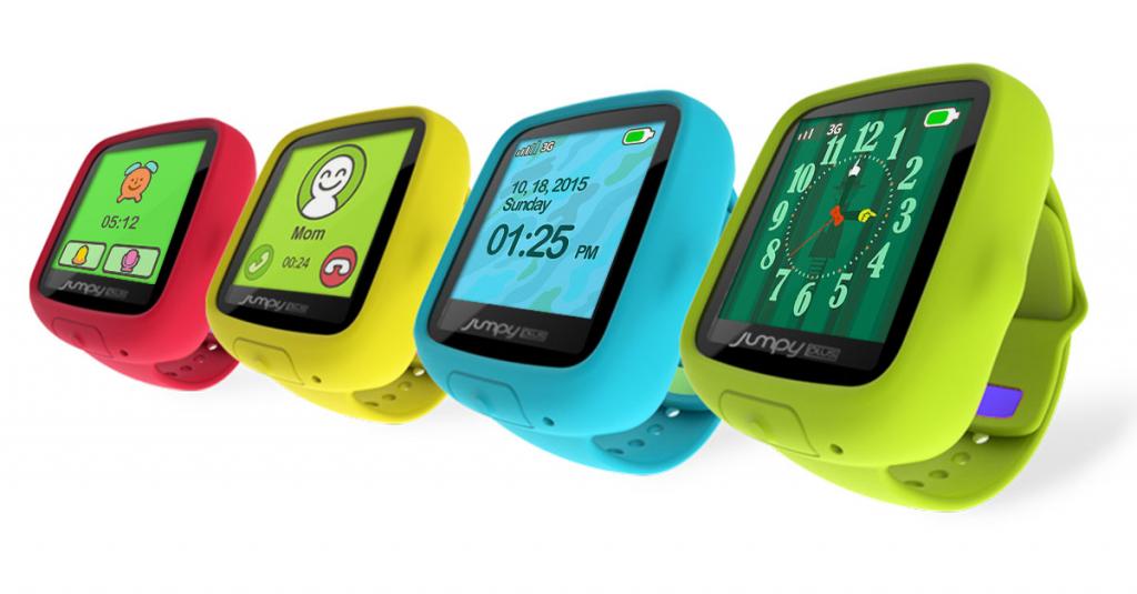Jumpy Plus smartwatch colors