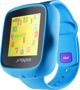 Jumpy Plus smartwatch in blue