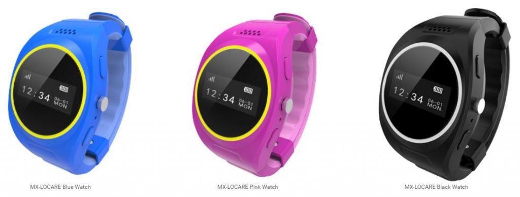 MX-LOCare watch colors