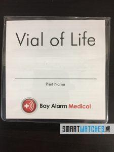 Bay Alarm Medical GPS Module Vial of Life Front