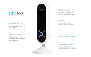Amazon Echo Look Tech Specs