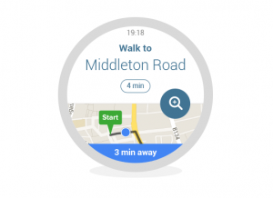 CityMapper smartwatch app screenshots