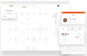 Strava social networking for athletes