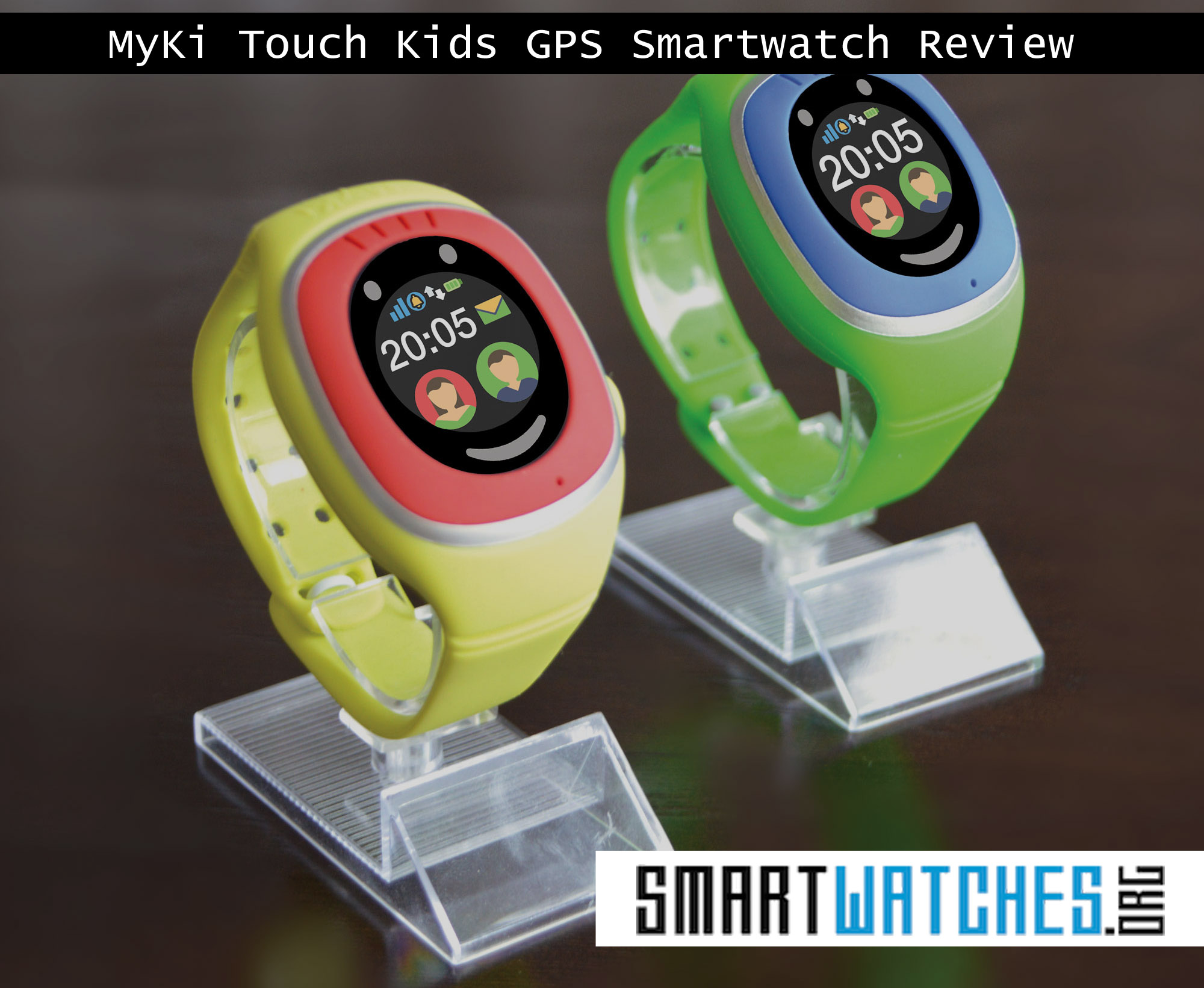 MyKi Touch Kids GPS Smartwatch Review - SmartWatches org