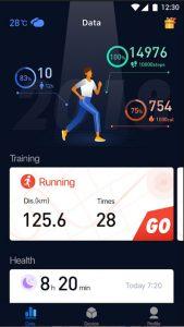 iWOWNfit Pro app screenshot 1