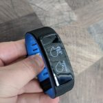 iWOWNfit i6HRC front with blue band