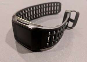 P1 smartwatch left side