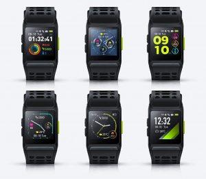 P1 smartwatch multiple screens