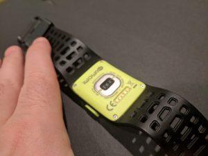 P1 smartwatch rear