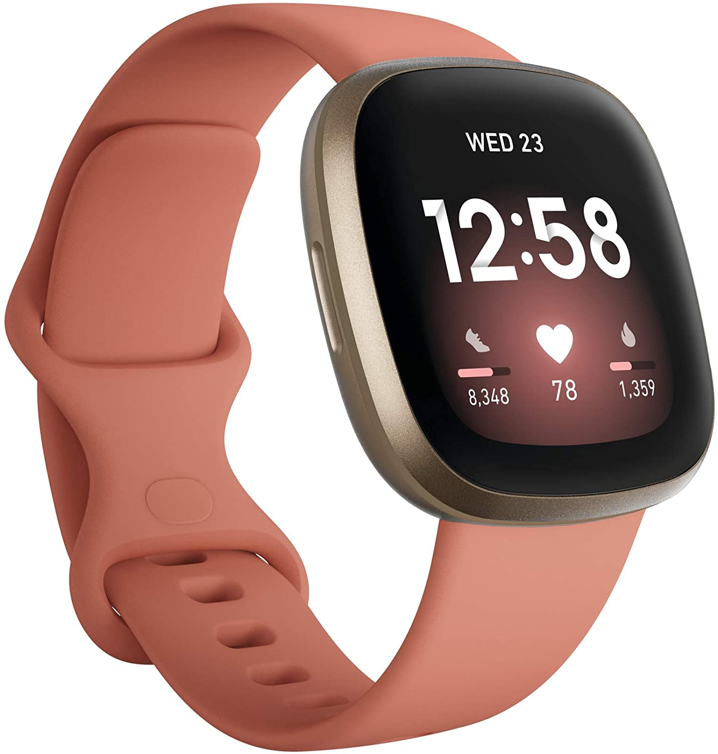 fitbit versa 3 health & fitness smartwatch with gps