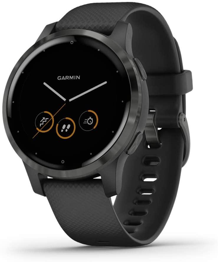 garmin vivoactive 4 gps smartwatch for stress management