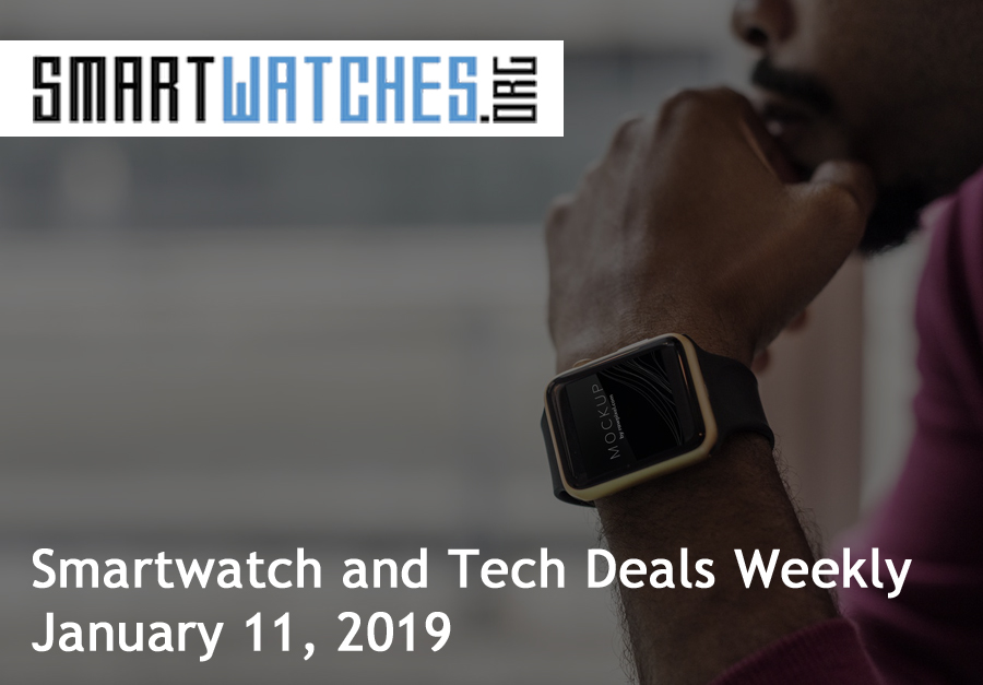 smartwatch general tech deals jan 11 2019