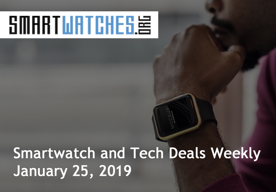 smartwatch and tech deals weekly