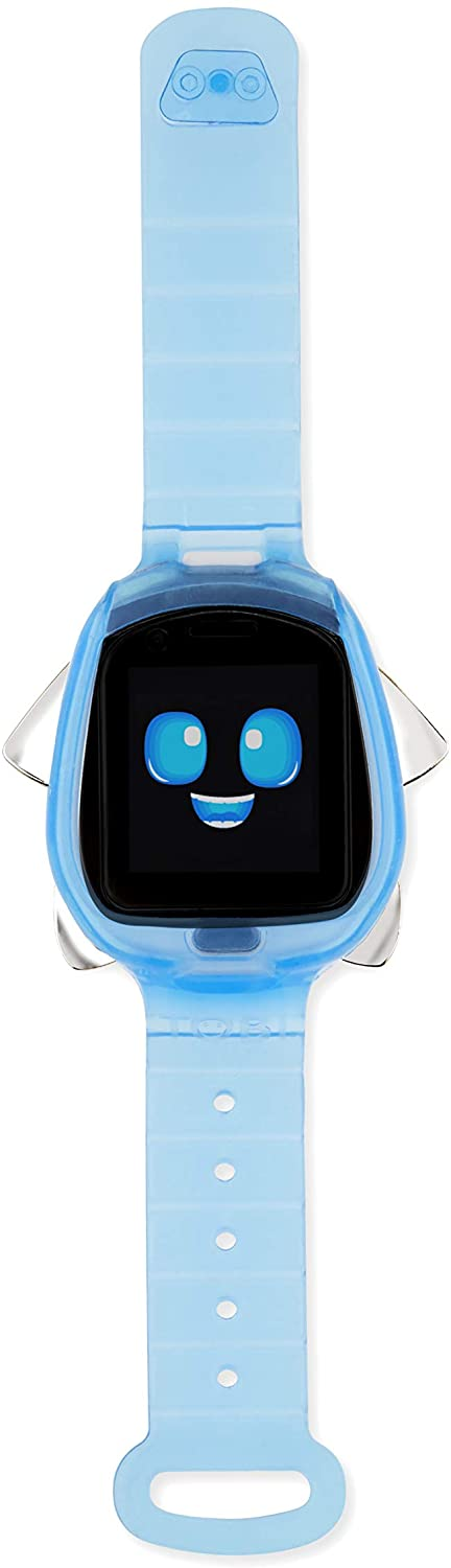 little tikes tobi robot smartwatch blue color isolated on white background