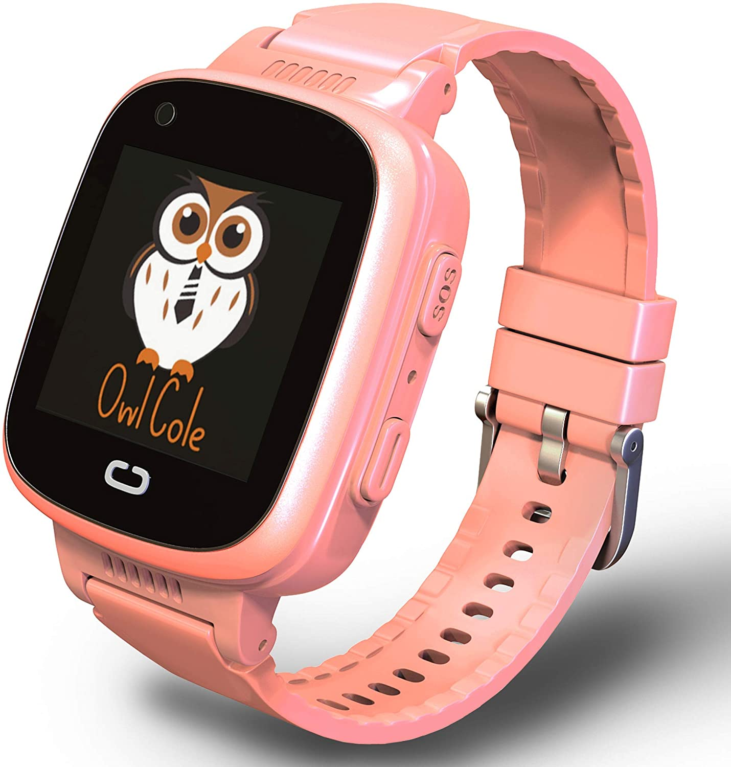 owl cole smartwatch for kids isolated on white background