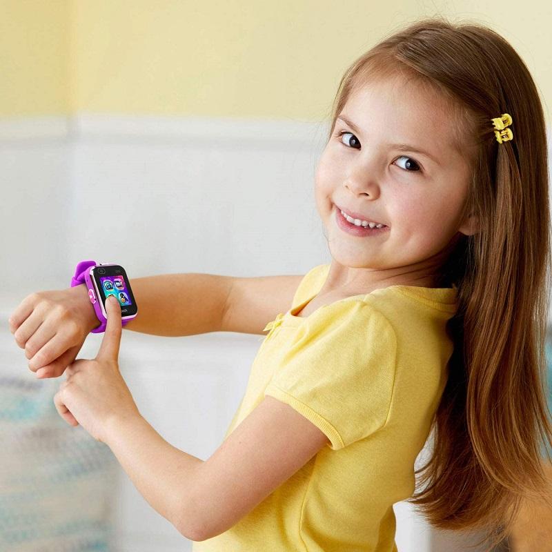 purple smartwatch dx2