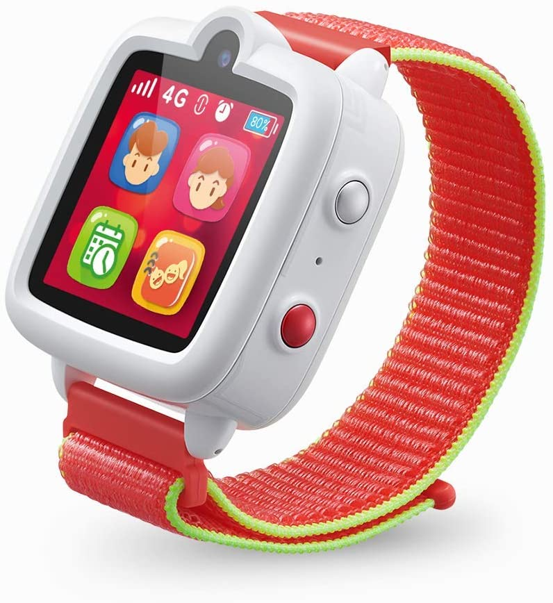 ticktalk 3 universal smartwatch for kids isolated on white background