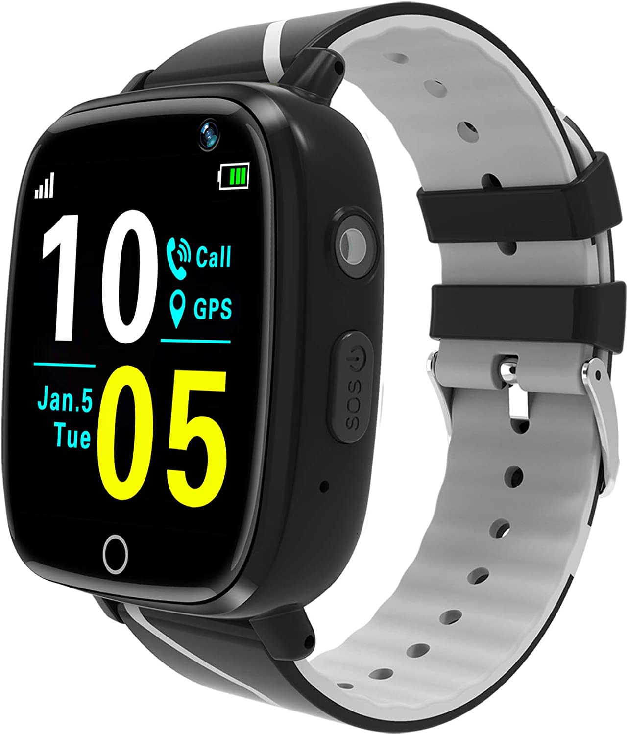 willow wind kids gps smartwatch isolated on white background